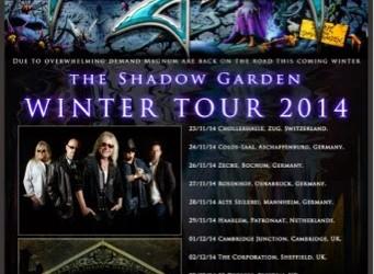 MAGNUM 2014 tour dates confirmed.