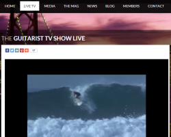 Guitarist TV – Live Video 24/7